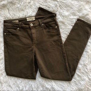 Lucky Brand Jeans - Deep Army Olive/brown denim